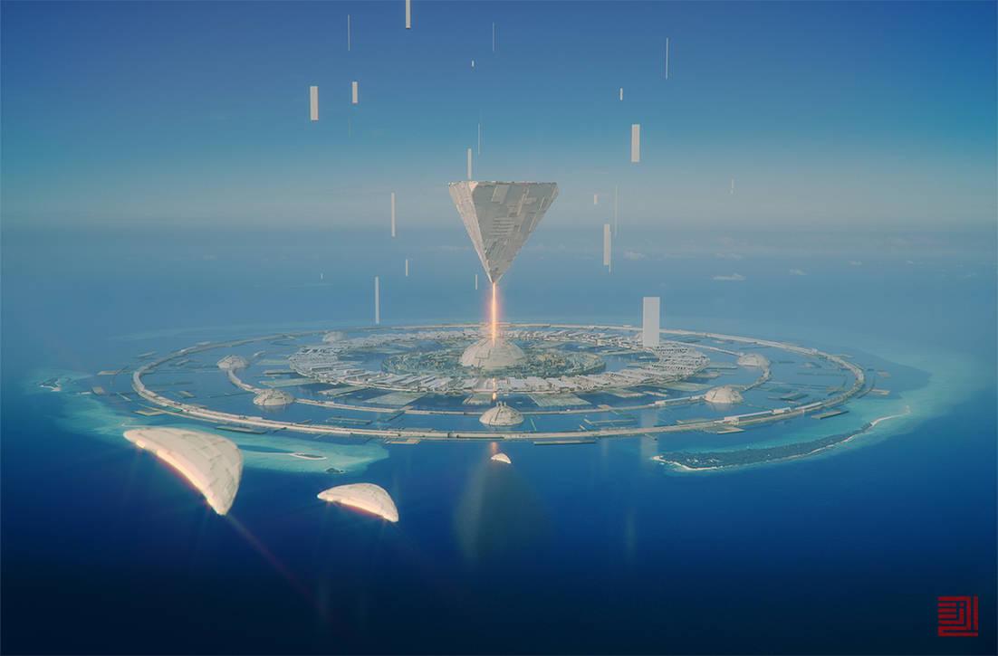 Kada'ne Atoll by Julian-Faylona