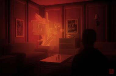 The Red Lamp by Julian-Faylona