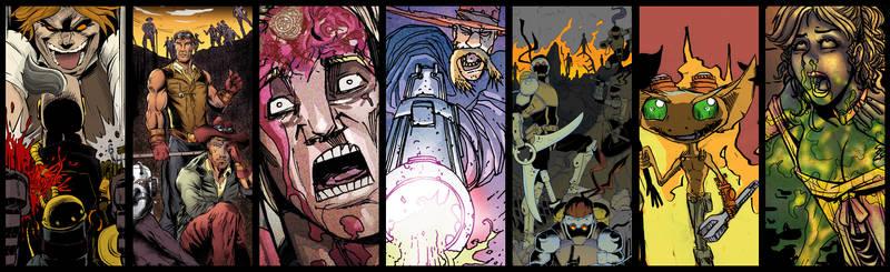 Steampunk Originals Volume 4 Preview by SteampunkOriginals