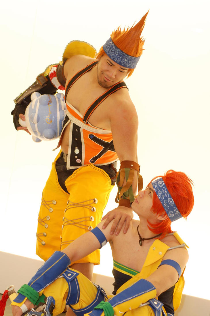 Wakka Chappu Cosplay by anhcris