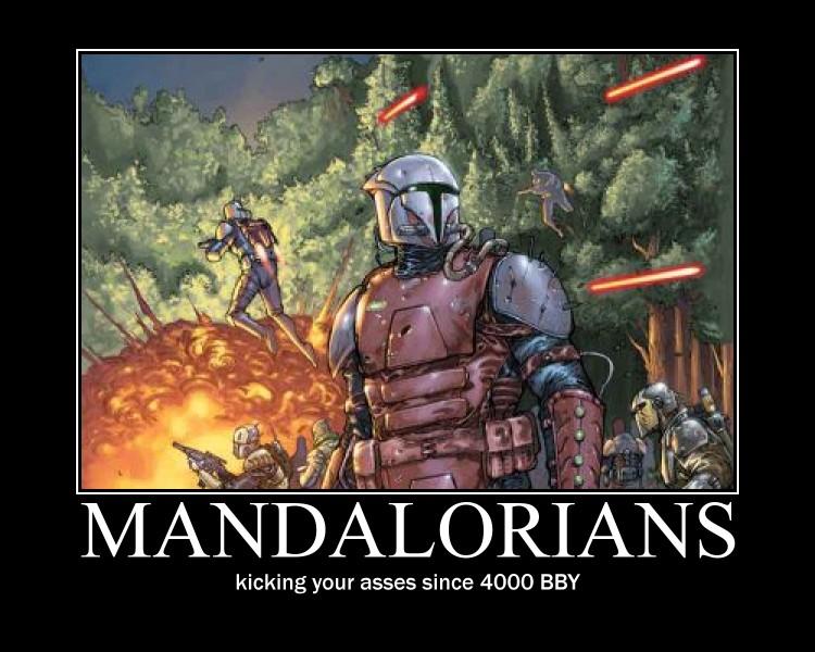 Mandalorians by Varezart