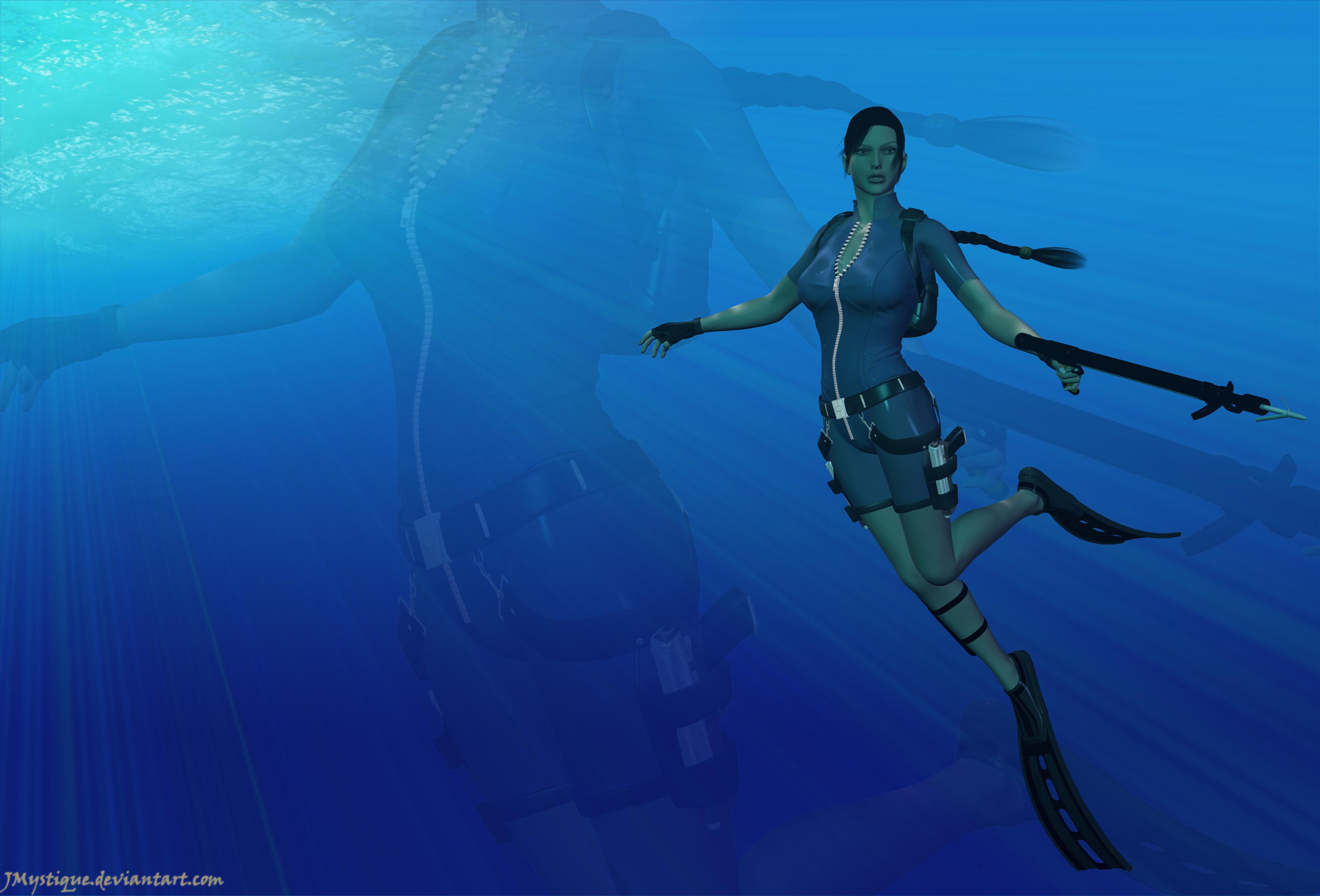 Underwater by XxUkarixX on DeviantArt
