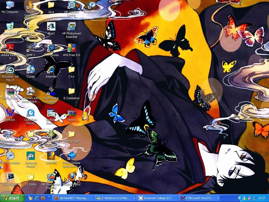 Desktop - Watanuki by Bahamut50