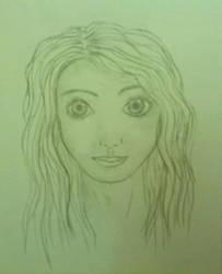 Jennifer sketch by LotusThePirate
