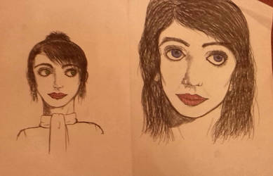 Ladies - sketches by LotusThePirate