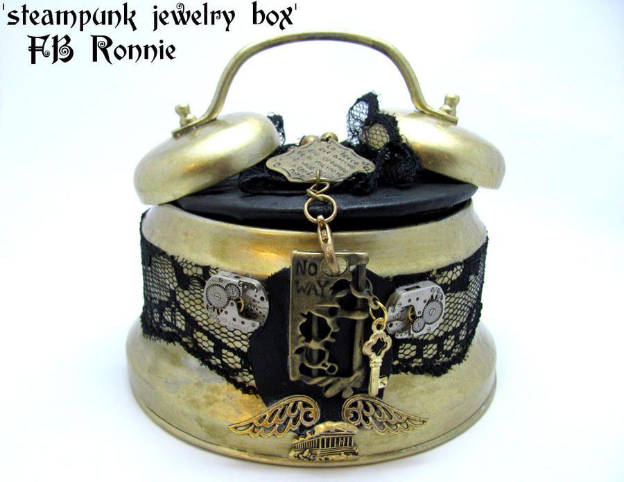 Steampunk Jewelry Box by fbronnie on DeviantArt