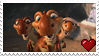 Dino Babies Stamp by PuccaFanGirl
