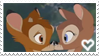 Bambi x Feline Stamp by PuccaFanGirl