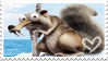 Ice Age 4 Scrat Stamp by PuccaFanGirl