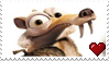 Ice Age 4 Scrat Stamp - 2 by PuccaFanGirl