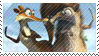 Scrat/Scratte Stamp (6) by PuccaFanGirl