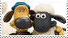 Shaun and Bitzer Stamp by PuccaFanGirl