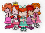 The Little Red Haired Girl Appearances