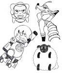 Last Inktober Doodles
