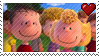 Linus/Sally Stamp by PuccaFanGirl