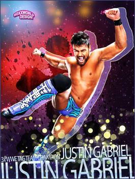 Justin Gabriel Artwork - WWE