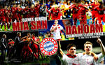 Mia san Dahoam - FC Bayern Wallpaper 2012