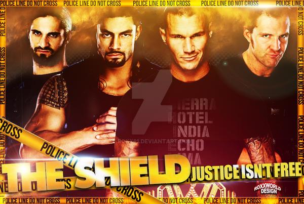 The Shield WWE - Artwork by roXx81
