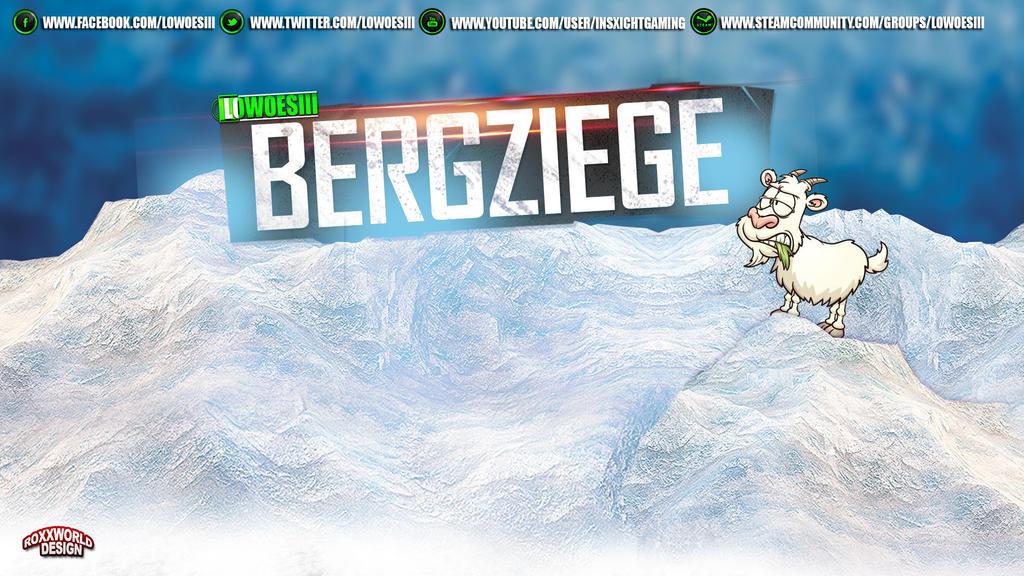 LowOesii Bergziege-Wallpaper by roXx81