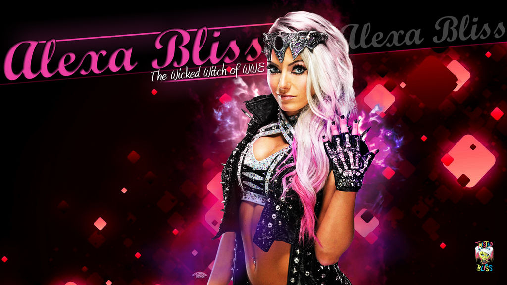 Alexa Bliss Wallpaper Wwe By Roxx81 On Deviantart