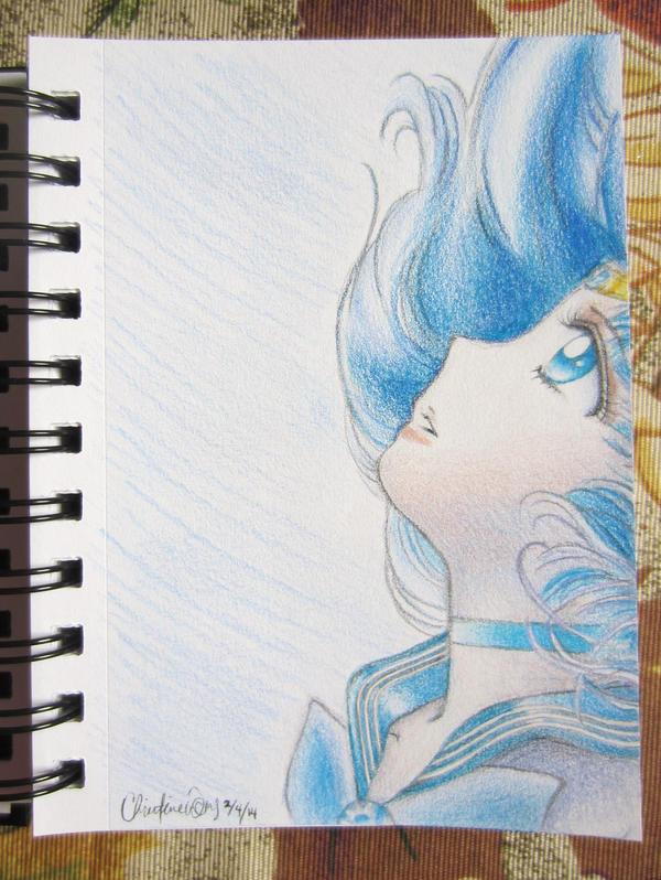 Sailor Mercury by iliketodoodle