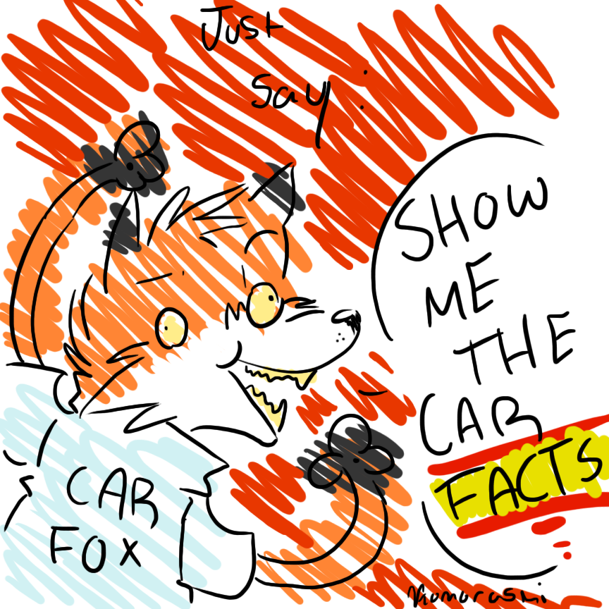 SHOW ME DEM CAR FACTS By Komoroshi On DeviantArt - Show me the car facts