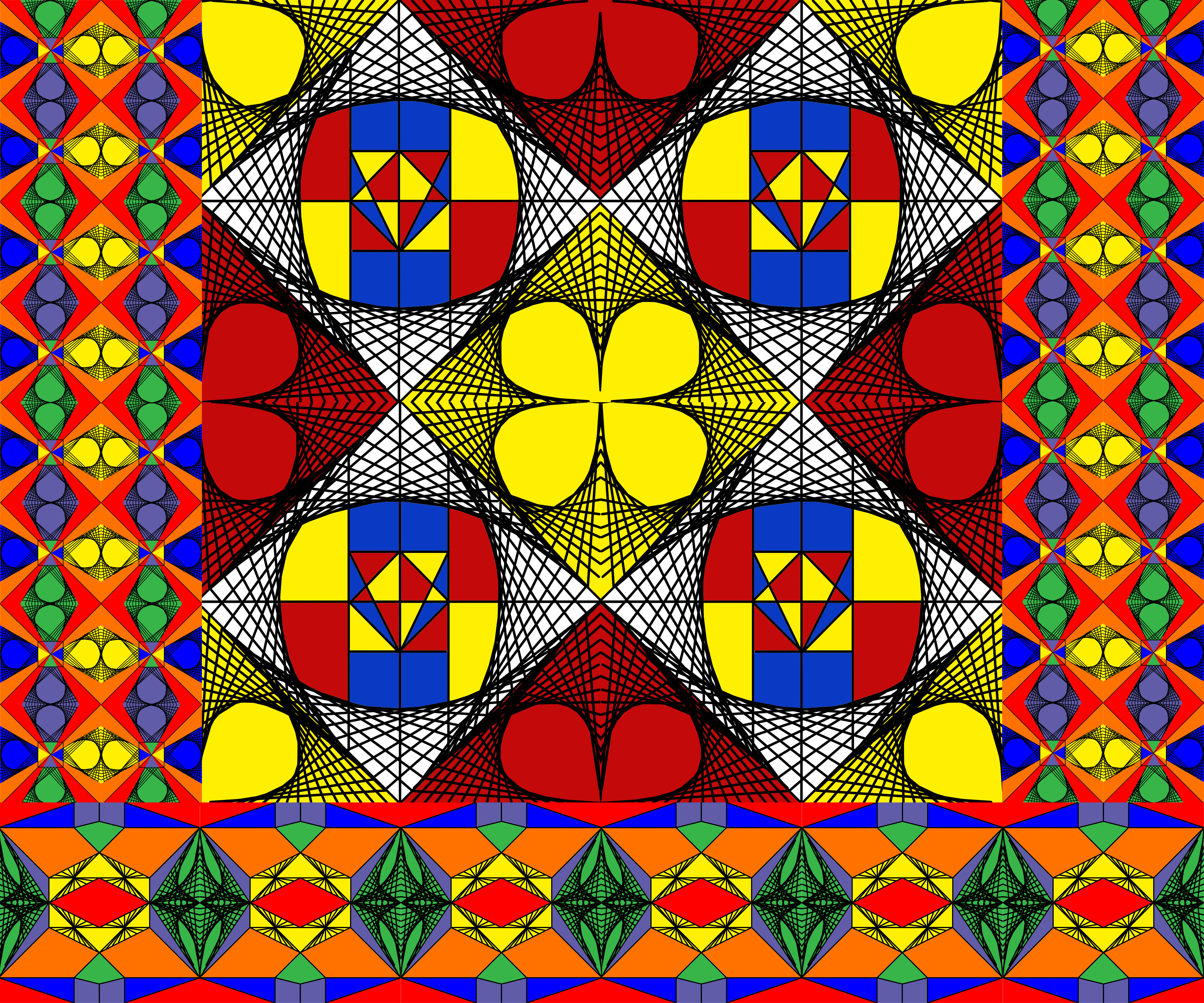 Kente Cloth Design | Solve Kente Cloth Design Jigsaw Puzzle Online With 56 Pieces