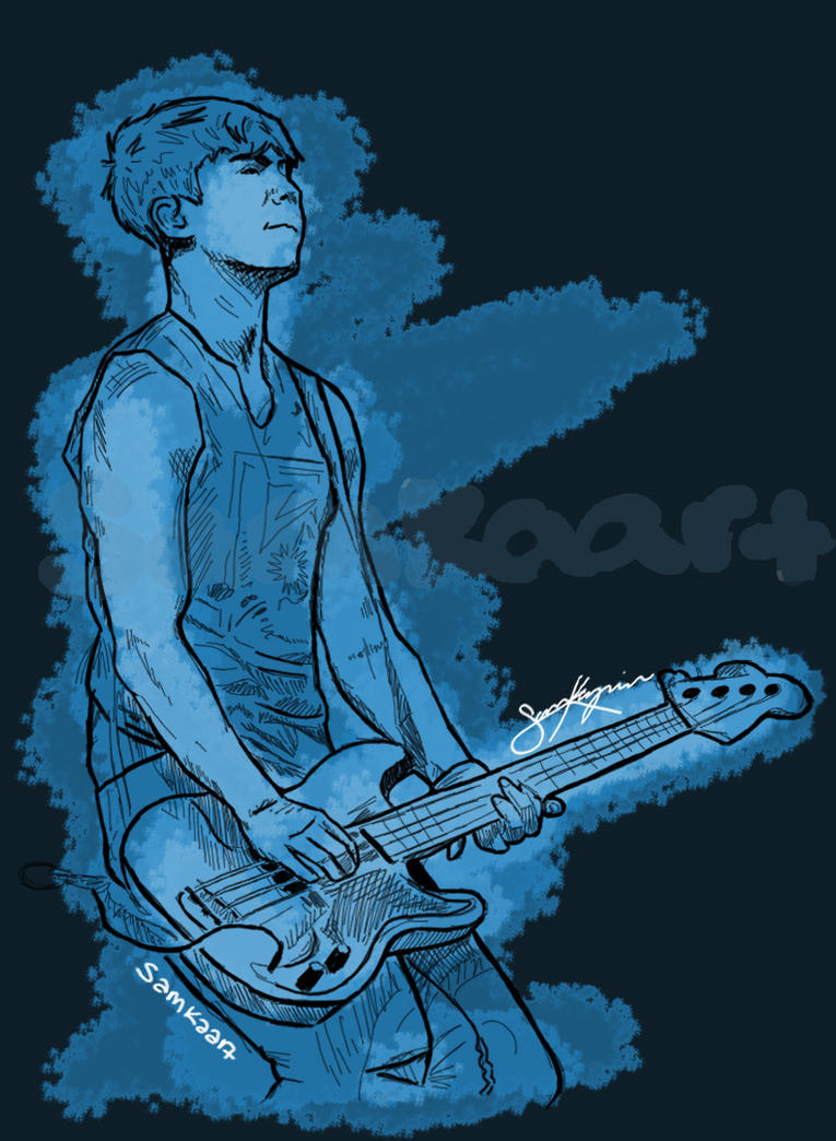 Calum Hood (color) by RainbowGiraffe77