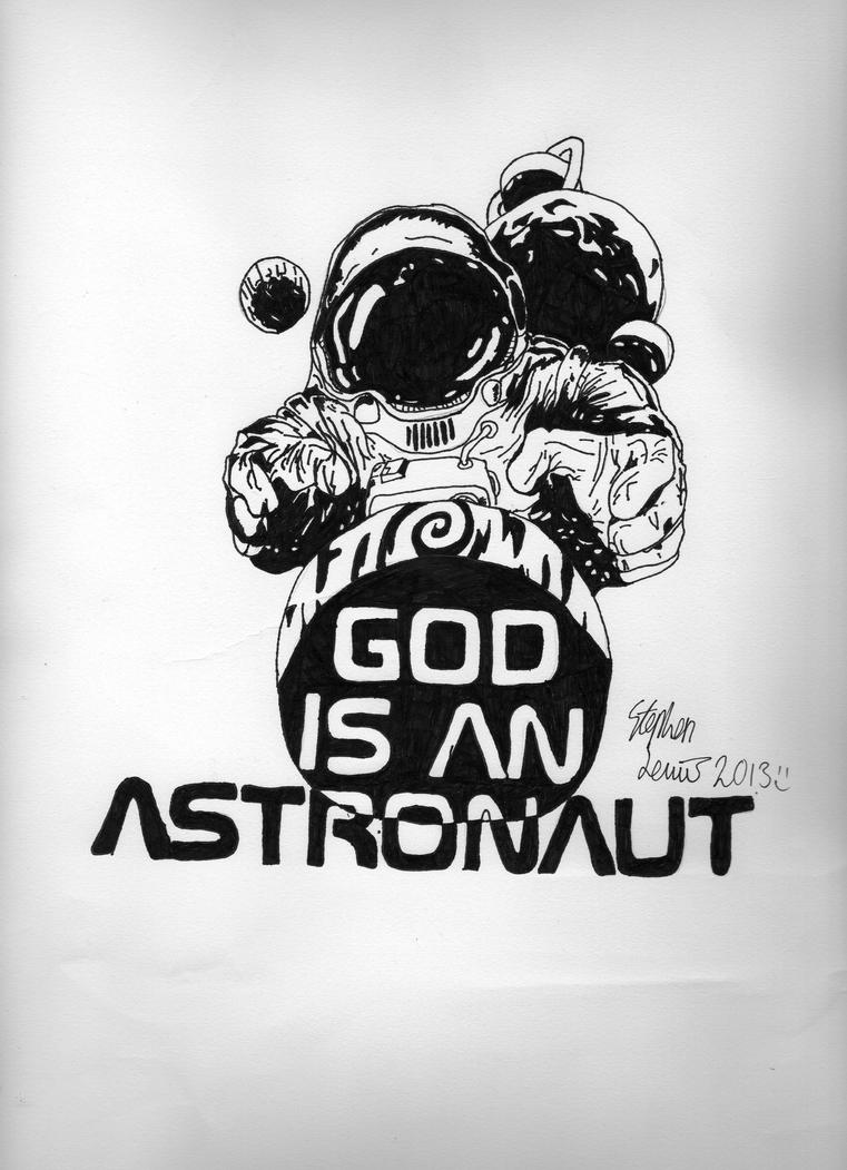 M Logo Wallpaper Mobile God is an Astronaut by...