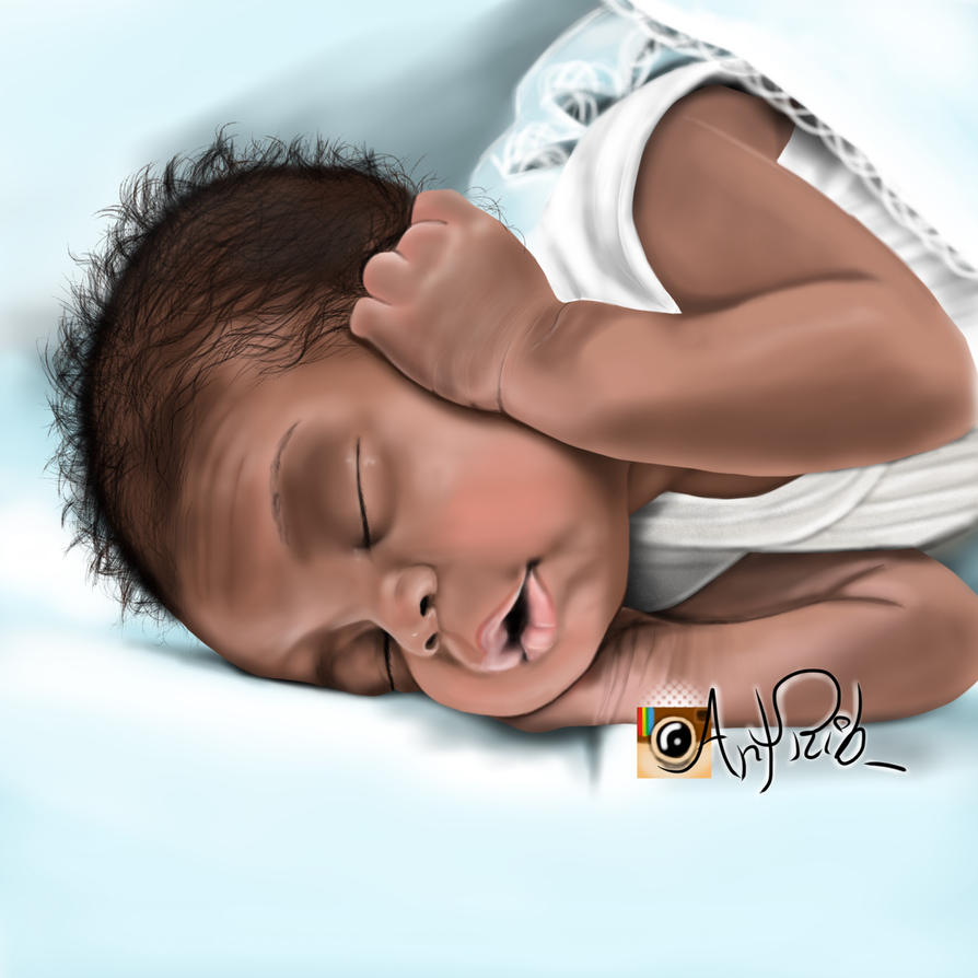Baby  by ribebia