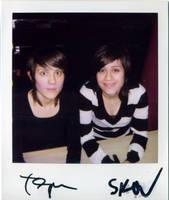 Tegan + Sara by eyepennie