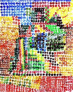 mosaico by CopperFangHusky