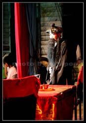 Chinese Opera Servant