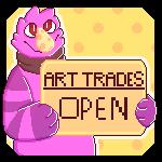 Art Trades by rigbythememe