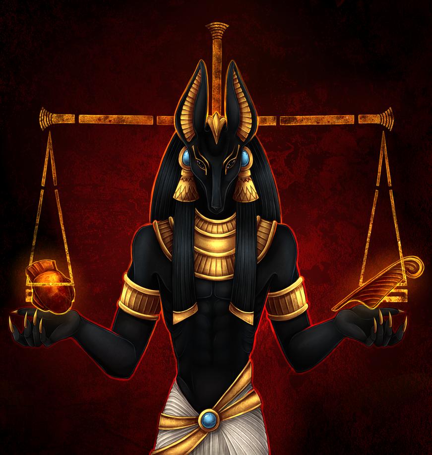 Egypt Wallpaper: Anubis By Varjopihlaja On DeviantArt