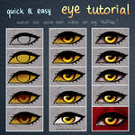 QUICK + EASY ! Eye Tutorial [video] by Varjopihlaja