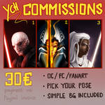 YCH COMMISSIONS open!