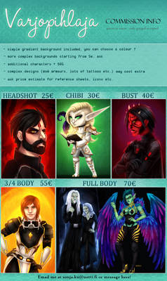 COMMISSION INFO 2019-