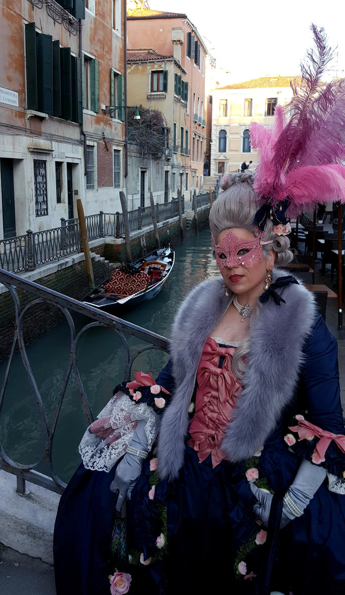 magic Venice in a 18th century dress by TamyDeLuxe