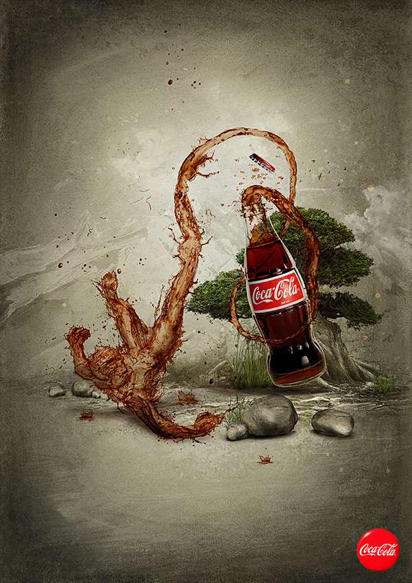 Coca Cola art by 6rhill