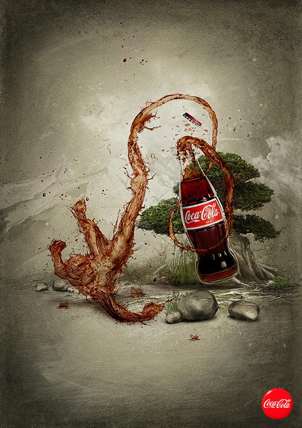 Coca Cola art by 6rhill