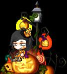 Music Pumpkin Witchie by lillydachic