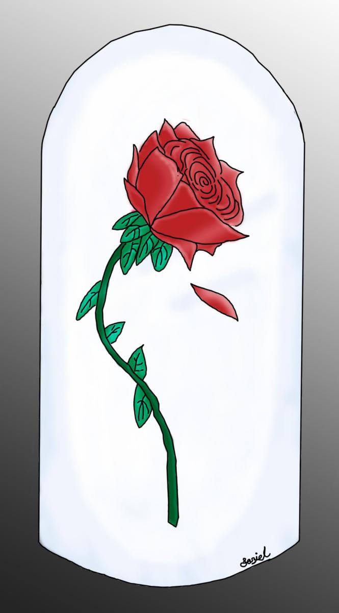Enchanted Rose Drawing: The Enchanted Rose By MrKingrockwolf On DeviantArt