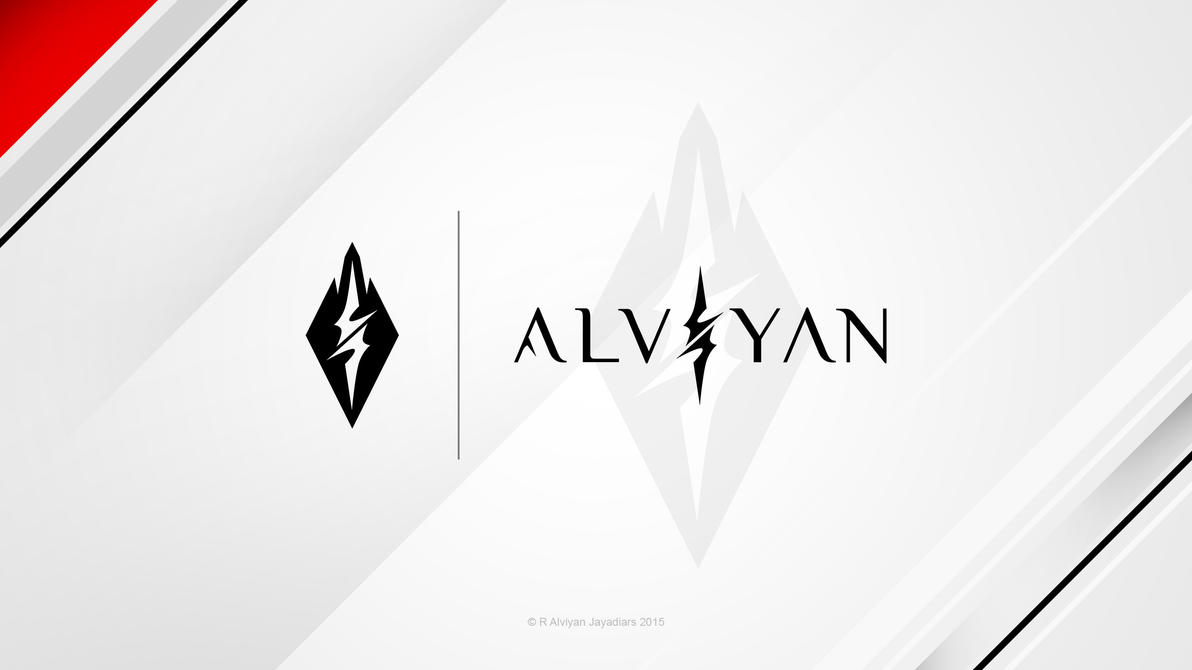 Alviyan - Logo SS1 Preview 1 by deviantalviyan