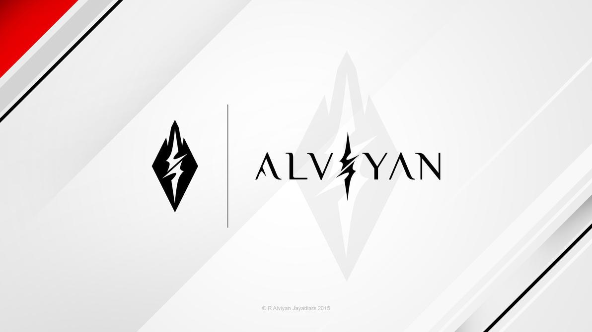 Alviyan - Logo SS1 Preview 1 by deviantalviyan