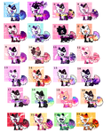 Set price puppy adopts (Open) by Cocosetteadopts