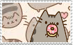 Pusheen stamp! by tacodoqqu