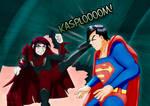 Drax attacks Superman