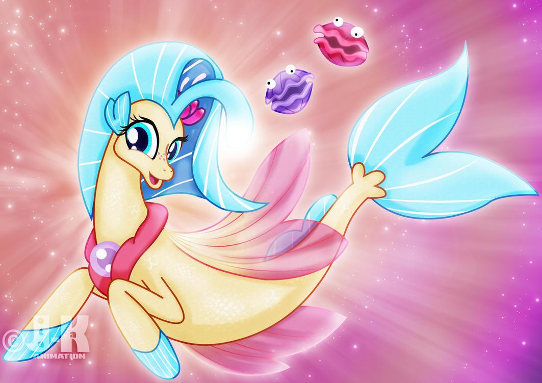 Princesa Skystar by jotakaanimation