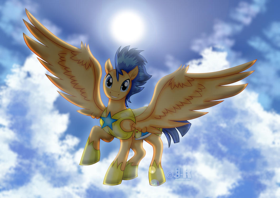 Flash Sentry_Flying by jotakaanimation